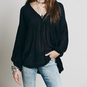 Free People Dancing on Clouds Tunic
